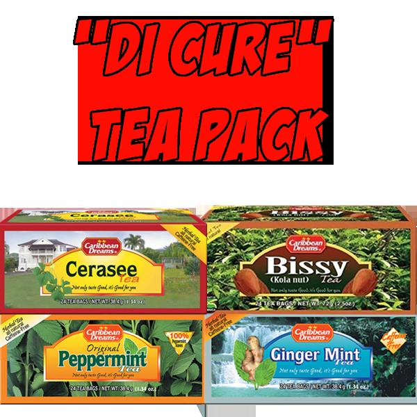 """""""Di Cure"""" Tea pack"""